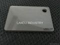 LANDU Transparent grey color acrylic sheets landu color number 834 2