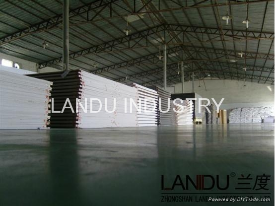 LANDU Transparent grey color acrylic sheets landu color number 834 3