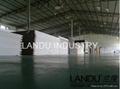 LANDU Transparent grey color acrylic sheets landu color number 834 3