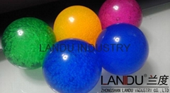 High quality colorful acrylic round