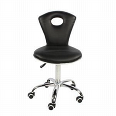 High Back Seat Swivel PU Leather Adjustable Pedicure Chair