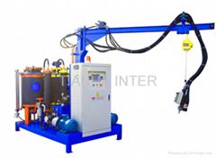 High-pressure polyurethane foam machine