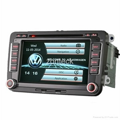 Zonteck 7 Inch ZK-7009V VW Car DVD Player with OBD