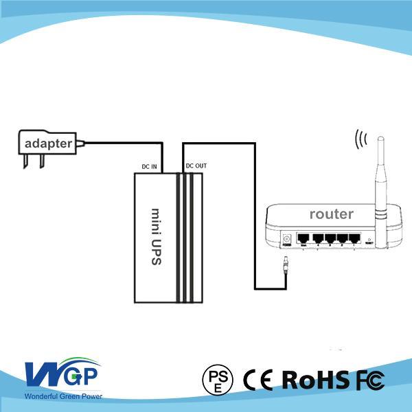 mini 12v dc ups system uninteruptable power supply UPS - China -