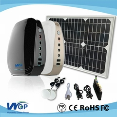 solar power generator with long backup  time solar power system