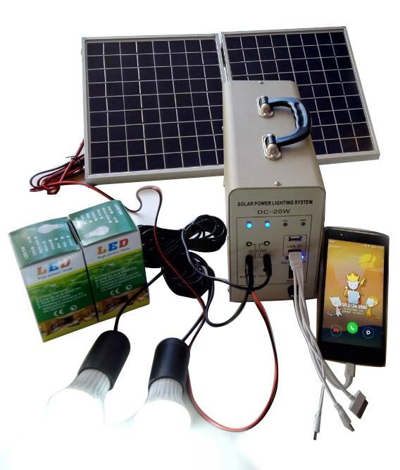 20W solar power system 1