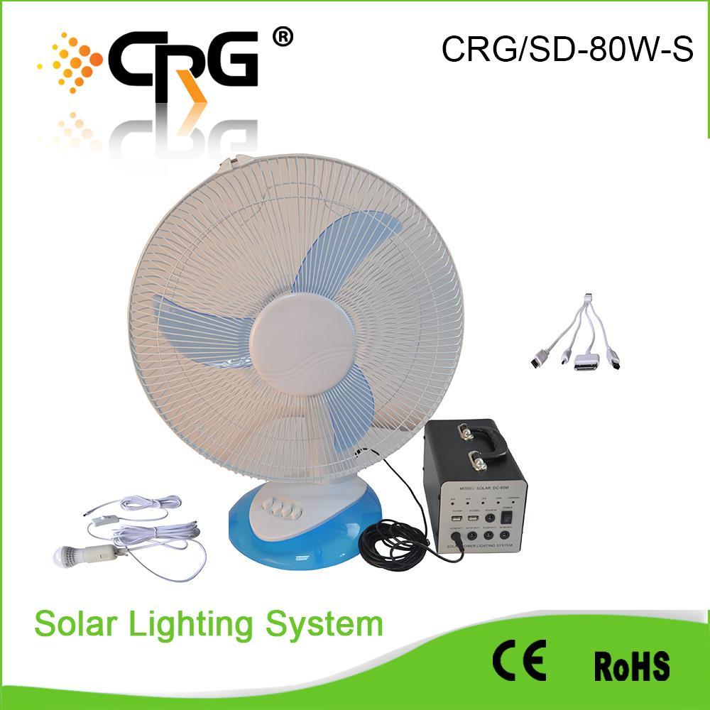 80W solar home kit 3