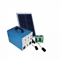250W complete solar home lamp system 5