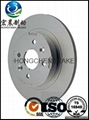 high quality brake disc for TOYOTA 4