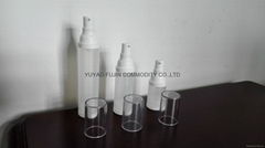 15ml;30ml;50ml hot selling airless plascit cosmetic airless lotion bottle