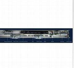 Economic 24GHz Microwave Sensor Type Automatic Sliding Glass Door Operator