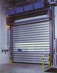High-Speed Roll-up Door with Hard Metal