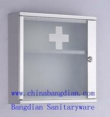 Durable 304 Stainless Steel storage medicine cabinet(7002)