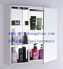 Hot sales multi-function stainless steel mirror cabinet 6018
