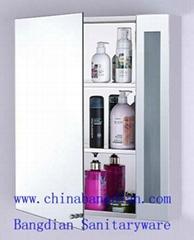 Fully stocked stainless steel bathroom vanity top cabinet(M9105)