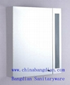 Bathroom Mirror Storage Cabinet with