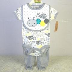 baby clothing set 100% cotton