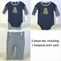 cotton baby bodysuits DXSJ5027 foreign brand