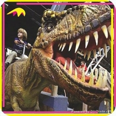 Trade Assurance Amusement Kids Playing Toy Riding Dinosaur