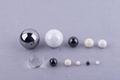 氧化鋯氧化鋁氮化硅碳化硅高精密陶瓷軸承球閥門球 1