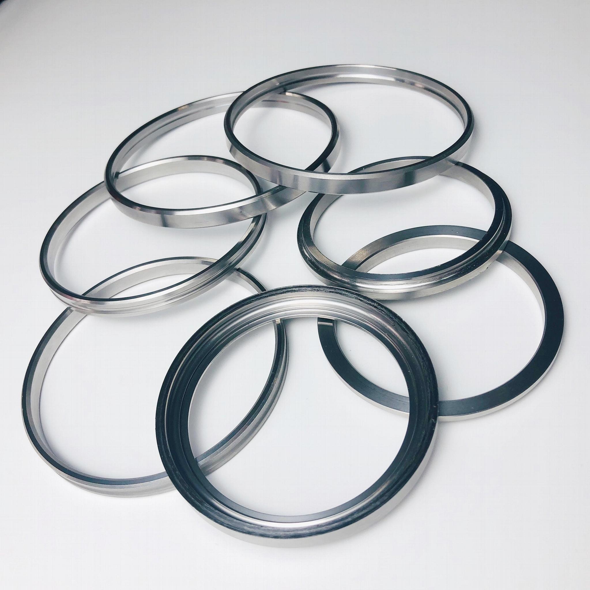 不鏽鋼零件汽車配件軸承密封套圈精密加工 2