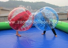 2016 Best selling bumper ball inflatable ball