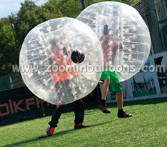 Fashionable designed inflatable ball suit for sale