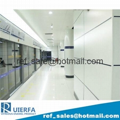 Fire Resistant and Water Resistant Vitreous Enamel Panel REF15