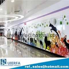Vitreous enamel Metro cladding panel REF20