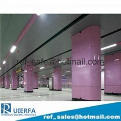 Vitreous Enamel Decorative Panel REF33