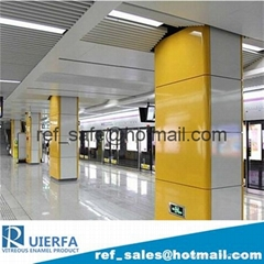 Vitreous Enamel Panel for Metro Cladding REF58