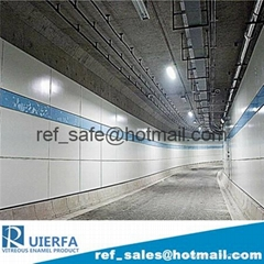 Vitreous enamel panel for interior wall cladding panel China supplier REF77