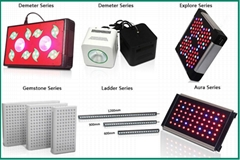 LED Grow Light Full Spectrum for Greenhouse and Indoor Plant Flowering and Growi