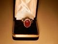 6.7克拉红宝石戒指 1