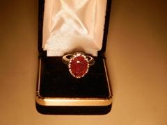 6.7克拉红宝石戒指