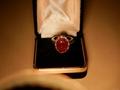 6.7克拉红宝石戒指 2