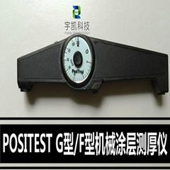 美国DeFelsko G/F机械式涂层测厚仪