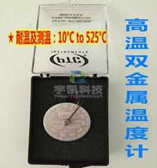美国PTC指针式双金属温度计