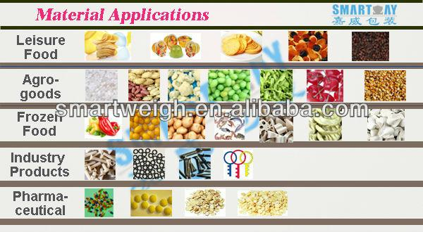 2016 SW-M10 weigher for beans,rice,white sugar vertical automatic packing  5