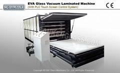 EVA Glass Vacuum Laminated Machine (Five Layers, Automatic Lifting & PLC Control