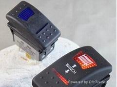 Heavy Duty Waterproof Sealed Lighted Illuminated Auto Automotive Rocker switch