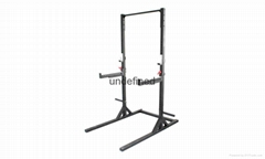 Adjustable Squat Rack with Pull up Bar