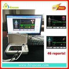 Mini quantum resonance full body magnetic health analyzer