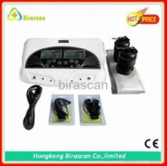 dual detox foot ion cleaner machine support 2people at the same time