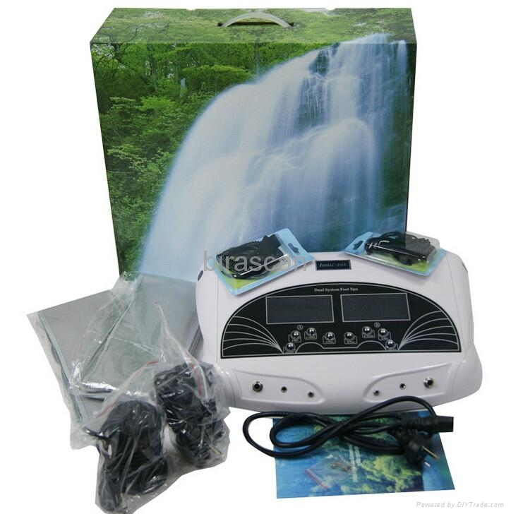 dual detox foot ion cleaner machine support 2people at the same time 4