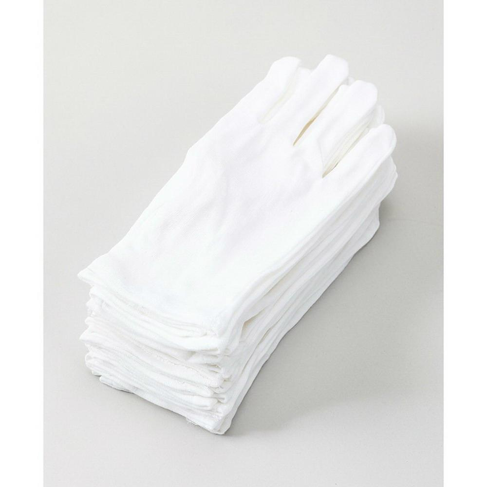 Cheap High-Quality Working White Cotton Gloves  1