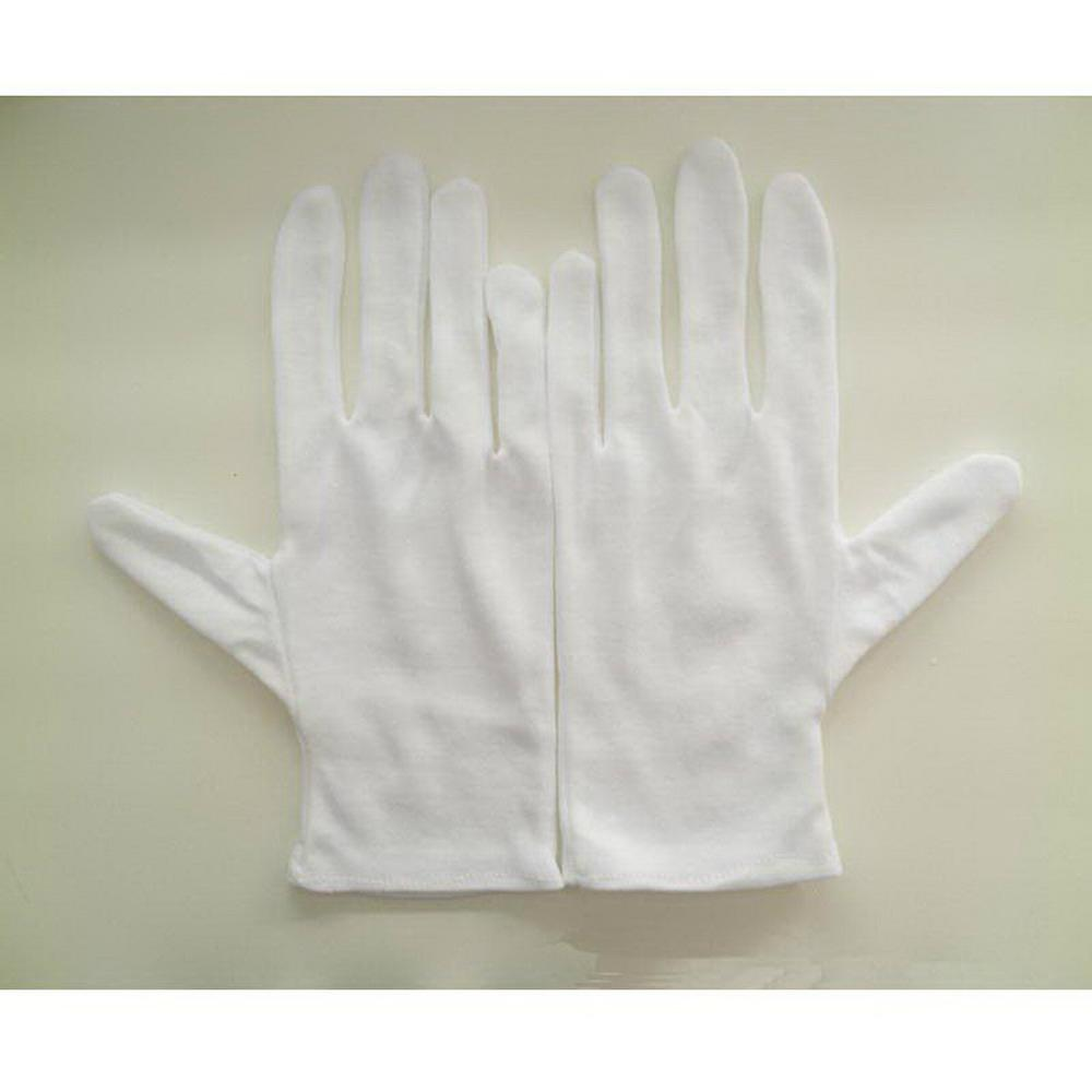 Cheap High-Quality Working White Cotton Gloves  2