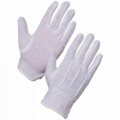 棉質PVC防滑軍隊軍樂隊儀仗隊手套