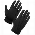 Cotton PVC Palm Non-Slip Marching Band Gloves 2