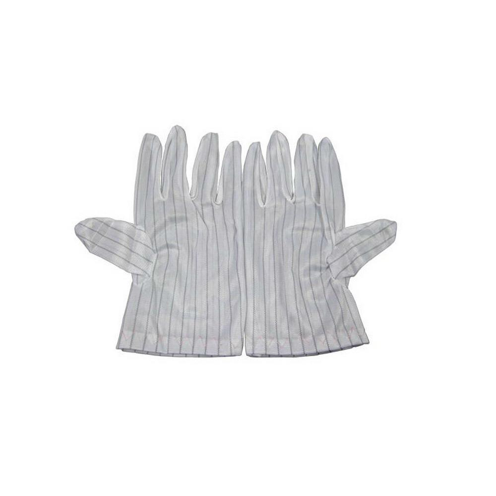 Lint Free Clean Room White Esd Antistatic Gloves  3